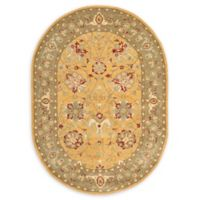 Safavieh Brielle 7'6 x 9'6 Oval Hand-Tufted Area Rug in Gold