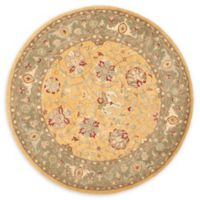 Safavieh Brielle 8' Square Hand-Tufted Area Rug in Gold