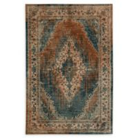Karastan Vasco Geometric 9'6 x 12'11 Area Rug in Aquamarine