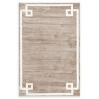 Jill Zarin Uptown 4' x 6' Area Rug in Brown