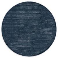 Jill Zarin Uptown 6' Round Area Rug in Navy/Blue