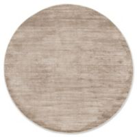 Jill Zarin Madison Ave 8' Round Area Rug in Brown