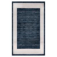 Jill Zarin Yorkville 5' x 8' Area Rug in Navy Blue