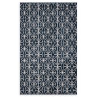 Jill Zarin Fifth Avenue 5' x 8' Area Rug in Navy Blue