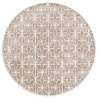 Jill Zarin™ Uptown Fifth Avenue 8' Round Area Rug in Brown