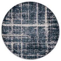 Jill Zarin™ Uptown Lexington Ave 8' Round Area Rug in Navy/Blue