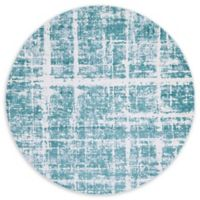 Jill Zarin™ Uptown Lexington Ave 8' Round Area Rug in Turquoise