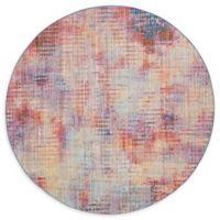 Jill Zarin™ Downtown Soho Multicolor 8' Round Area Rug