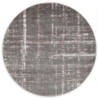 Jill Zarin™ Uptown Lexington Ave 8' Round Area Rug in Grey