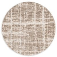 Jill Zarin™ Uptown Lexington Ave 8' Round Area Rug in Light Brown