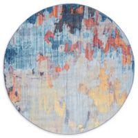 Jill Zarin™ Downtown Tribeca Multicolor 8' Round Area Rug