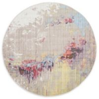 Jill Zarin™ Downtown Nolita 8' Round Multicolor Area Rug