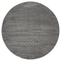 Jill Zarin™ Uptown Park Avenue 8' Round Area Rug in Grey