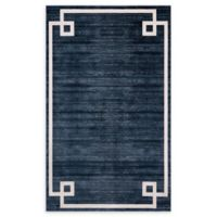 Jill Zarin Lenox Hill Uptown 5' x 8' Power-Loomed Area Rug in Navy/Blue