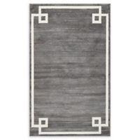 Jill Zarin Uptown 5' x 8' Power-Loomed Area Rug in Grey