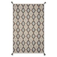 Hang Ten Hang Ten Rugs 8' X 11' Woven Area Rug in Slate/beige
