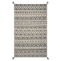 Hang Ten Hang Ten Rugs 5' X 7' Woven Area Rug in Grey