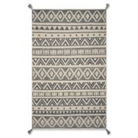 Hang Ten Hang Ten Rugs 6' X 9' Woven Area Rug in Grey