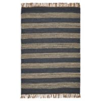 Hang Ten Hang Ten Rugs 5' X 7' Woven Area Rug in Navy