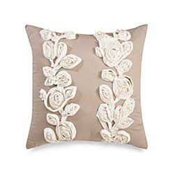 Bridge Street Sonoma Square Throw Pillow In Taupe Bed