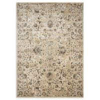 Magnolia Home by Joanna Gaines Evie 3'6 x 5'2 Power-Loomed Area Rug in Ivory