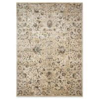 Magnolia Home by Joanna Gaines Evie 5'1 Round Power-Loomed Area Rug in Ivory