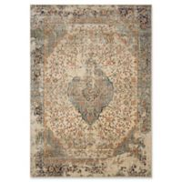 Magnolia Home by Joanna Gaines Evie 5'1 Round Area Rug in Multicolor/Sand