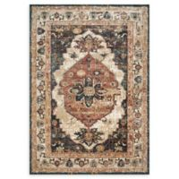 Magnolia Home by Joanna Gaines Evie 2'6 x 4' Accent Rug in Ivory/Spice