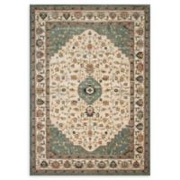 Magnolia Home by Joanna Gaines Evie 3'6 x 5'2 Area Rug in Ivory/Jade
