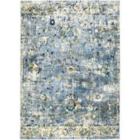 Shabby Chic 7'10 x 10'2 Area Rug in Grey/Blue