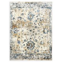 Shabby Chic Heritage Hosking 5'2 x 7'2 Area Rug in Beige/Blue