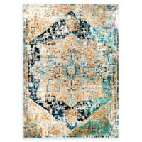 Shabby Chic Heritage Brandt 5'2 x 7'2 Area Rug in Blue/Grey