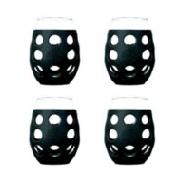 Lifefactory® 11 oz. Wine Glasses in Carbon (Set of 4)