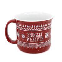 Snuggle Weather Camp Mug
