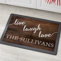 Live, Laugh, Love 18-Inch x 27-Inch Kitchen Mat