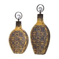 Uttermost Katelyn Ceramic Vessels in Bronze (Set of 2)