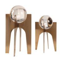 Uttermost Ellianna Crystal Spheres (Set of 2)