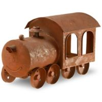 National Tree Company 14-Inch Metal Train Lawn Ornament
