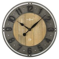 Sterling & Noble 20-Inch Industrial Arts Wall Clock
