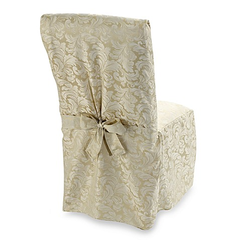 Ashbury Scroll Dining Room Chair Cover