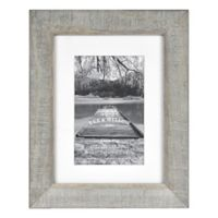 Bee & Willow™ Home 4-Inch x 6-Inch Matted Wooden Picture Frame in Grey