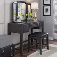 Home Styles 5th Avenue Vanity Set in Grey
