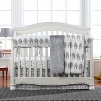 Liz and Roo Elephant 3-Piece Crib Bedding Set in Grey