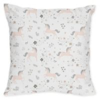 Sweet Jojo Designs Unicorn Decorative Throw Pillows (Set of 2)