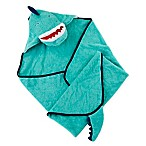Baby Aspen Dino Baby T-Rex Hooded Towel in Blue