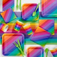 Creative Converting 81-Piece Rainbow Party Supplies Kit