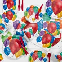Creative Converting 81-Piece Balloon Blast Party Supplies Kit