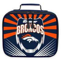 "The Northwest NFL Denver Broncos ""Lightning"" Lunch Kit"