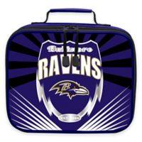 """The Northwest NFL Baltimore Ravens """"Lightning"""" Lunch Kit"""