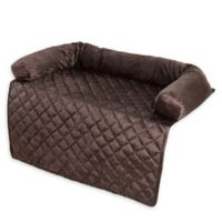 Petmaker 35-Inch Bolster Pet Furniture Cover in Brown